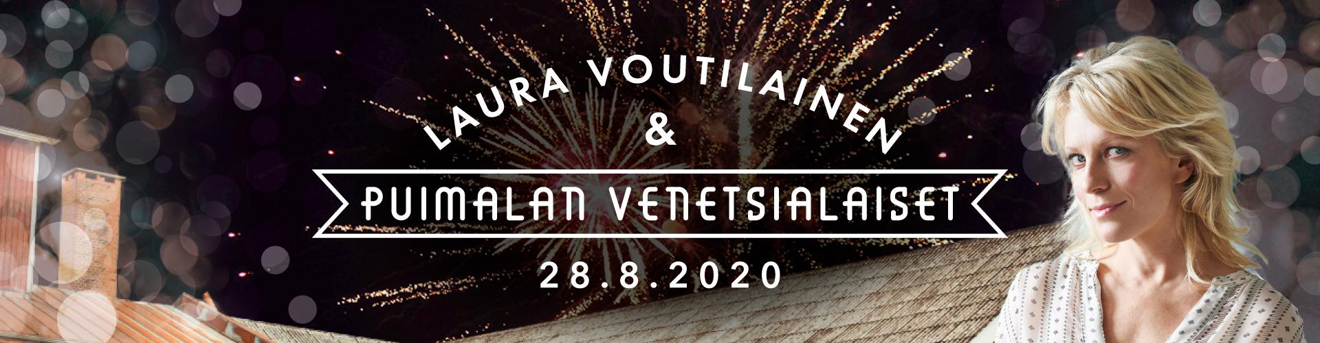 Laura Voutilainen & Puimalan Venetsialaiset 28.8