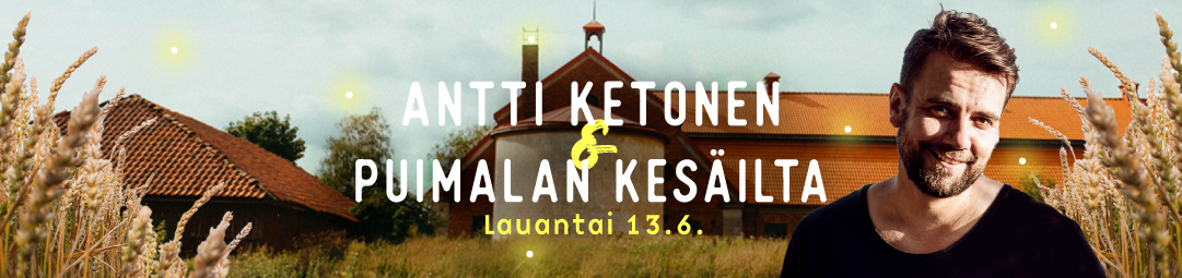 Antti Ketonen & Puimalan Kesäilta 13.6