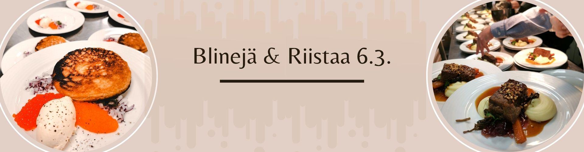 Blinejä & Riistaa 6.3.